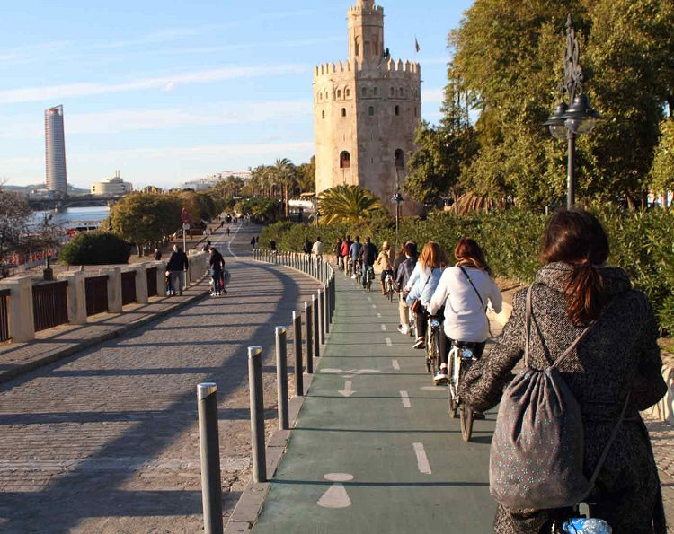 Sevilla's 3 hour bike tour