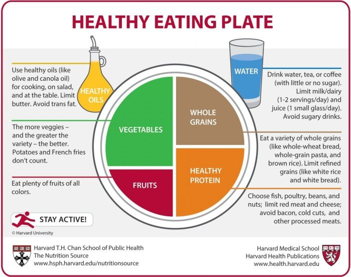 Piramide Alimentare - healthy eating plate