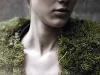 collo di pelliccia-muschio di Tara Mooth