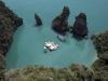 archipelago cinema, nella laguna di nai pi lae, in thailandia