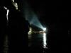 cinema in notturna nella splendida laguna