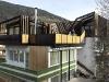 casa parassita di un avilletta anni '60 sulle Dolomiti