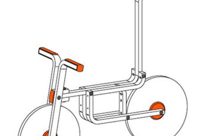 Come farsi una bici dallo sgabello IKEA: istruzioni