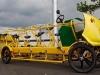 Un primo piano del bicibus olandese