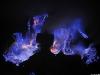 Lava blu: il vulcano indonesiano