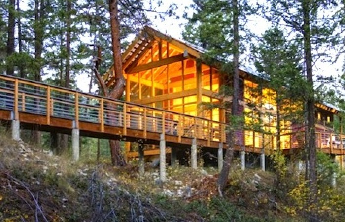 Casa nel Bosco nello Stato di Washington