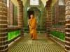 il tempio buddista di bottiglie