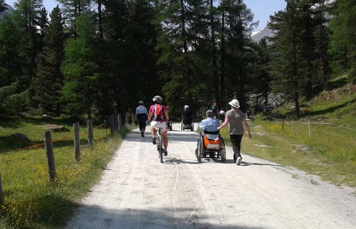cicloturismo in val roseg