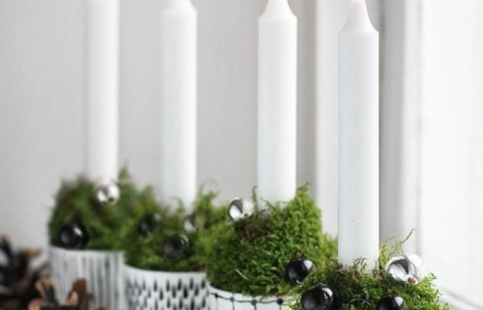 Decorare Candele Fai Da Te : Candele di natale originali decorazioni candele fai da te