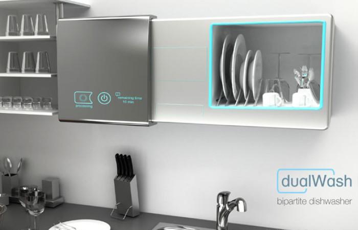 dualwash, la lavapiatti senz'acqua