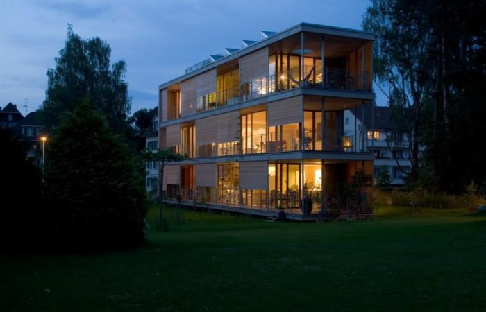 l'eco-condominio di gebhartstrasse
