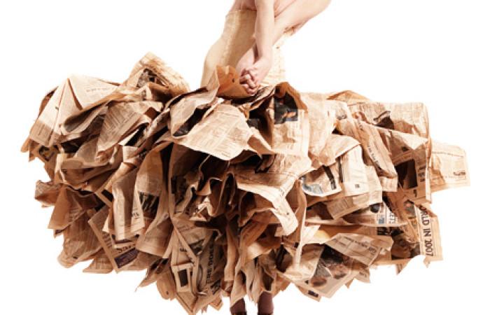 L'abito-giornale