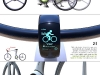 flexi_bike, il display con i dati