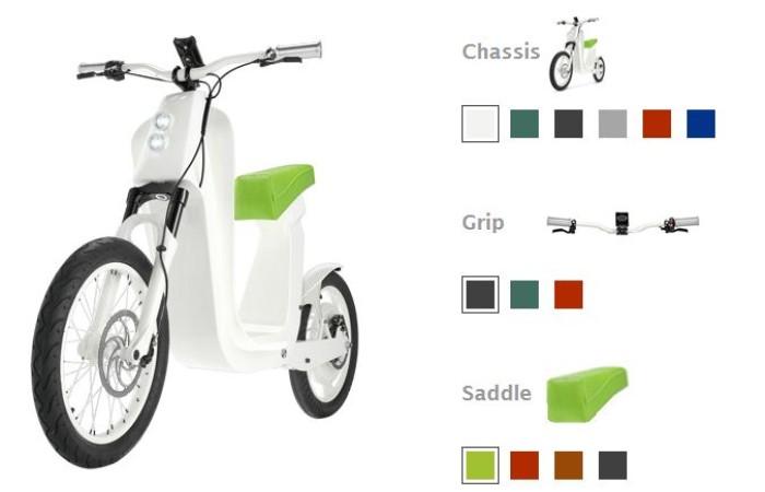 Foto della bici elettrica Xkuty-scooter_3