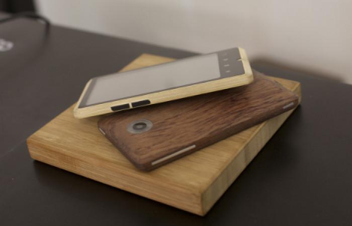 Bamboo Phone, il cellulare con guscio di bambù