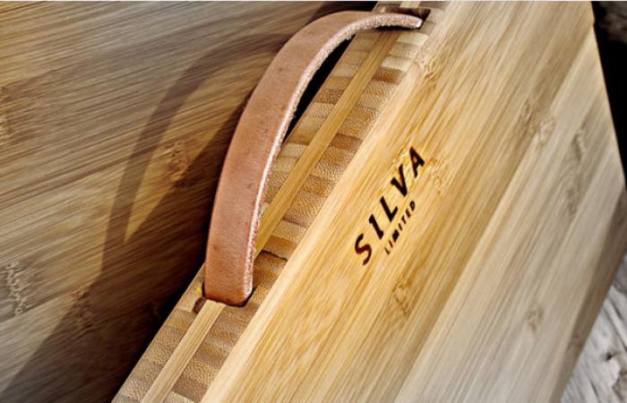 Silva, custodia rigida di bambù