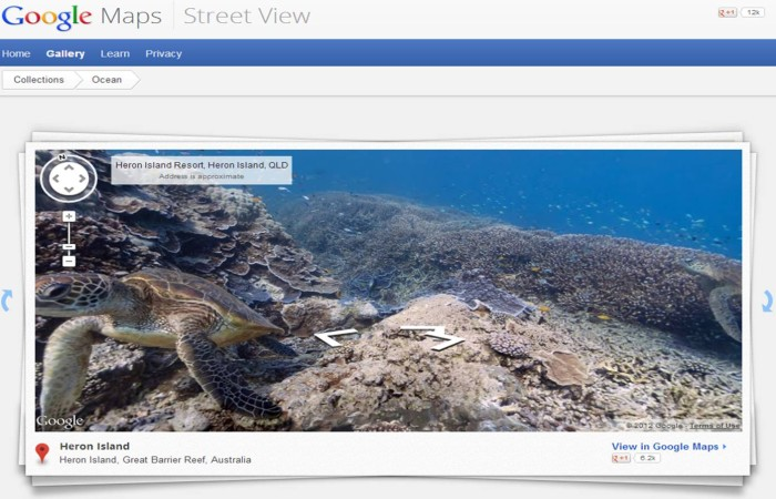 Heron Island, Great Barrier Reef, in Australia