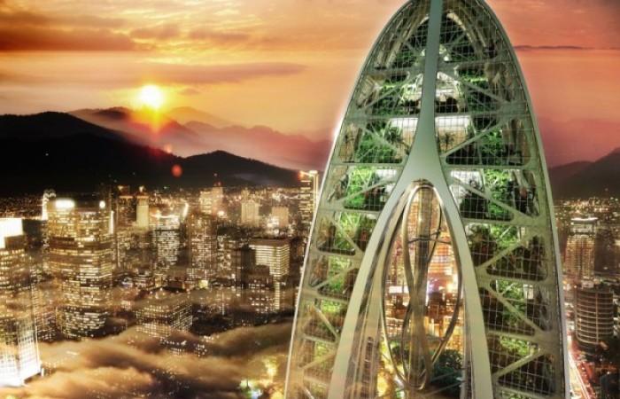 Eco-grattacieli a Taichung