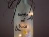 Bottiglia luminosa di Halloween