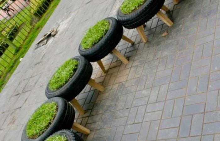 Molto Idee per riciclare pneumatici SW15