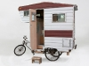 La bici-camper di Kevin Cyr
