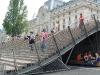 La scala passa sotto il Quai d'Orsay