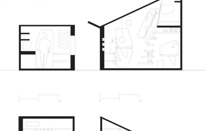 Mini residenza studenti tuttogreen for Planimetrie della mini casa