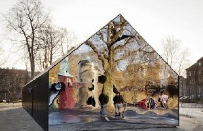 mirror-house-copenhagen-city-denmark
