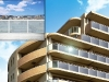 pannelli solari sharp trasparenti per balconi e finestre
