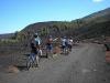 percorsi in bici per raggiungere il cratere