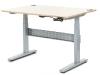 Geek desk è la scrivaniache si alza per lavorare in piedi