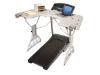 Trekdesk desk permette di correre sul tapis roulant