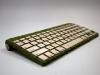 la tastiera di muschio e legno, particolare