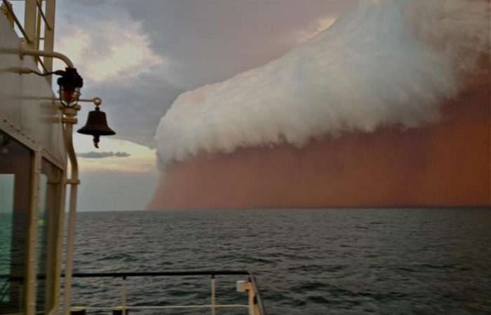 Foto tempesta di sabbia 62