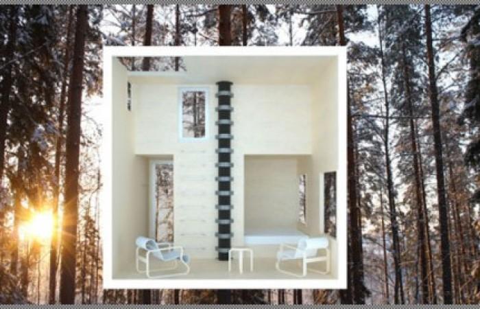 Tree Hotel di Harads in Svezia