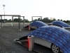 V Tent -parcheggio ad energia solare