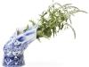"""Blow away, la classica porcellana Royal Blue Delft, """"soffiata via"""""""