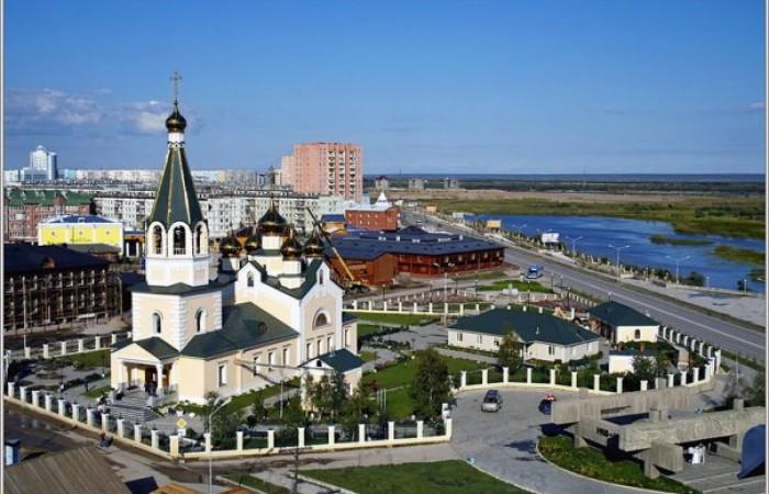 Yakutsk, vista aerea