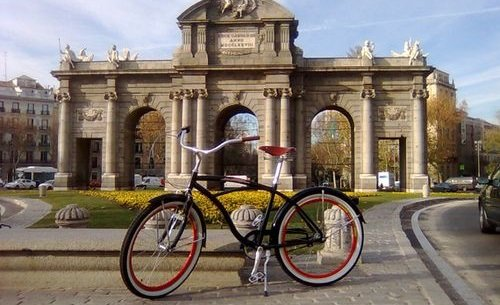 Photo of Il bike sharing a Madrid