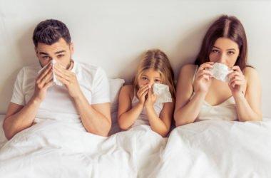 Come prevenire l'influenza in modo naturale con l'alimentazione e l'igiene