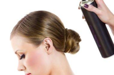 Lacca per capelli fatta in casa con ingredienti naturali