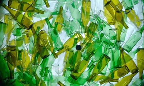 Riciclo del vetro