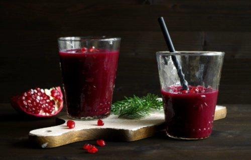 smoothie di frutta invernale