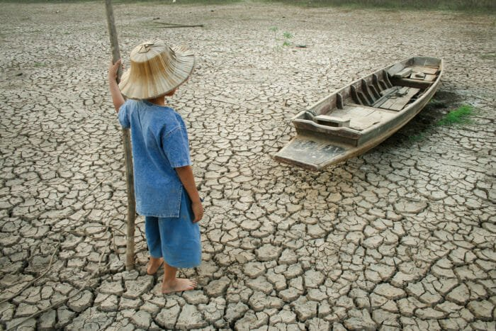 effetti del cambiamento del clima