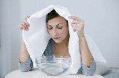Se avete il naso chiuso, i suffumigi sono un ottimo rimedio