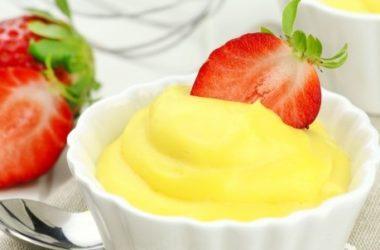 Crema pasticcera senza uova: ricetta vegana