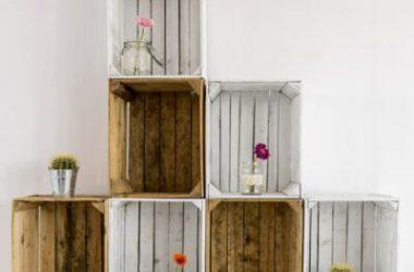 3 idee per riciclare le cassette della frutta facendo qualcosa di bello, unico e… utile!