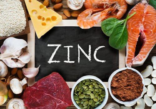 zinco alimenti