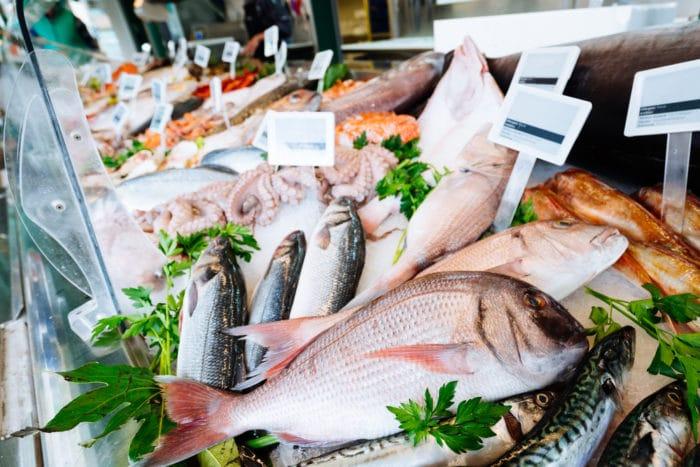10 alimenti ricchi di fosforo: pesce