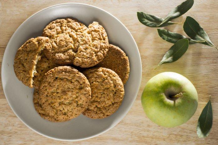 biscotti morbidi alla buccia di mele